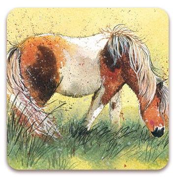 Shetland Pony Coaster