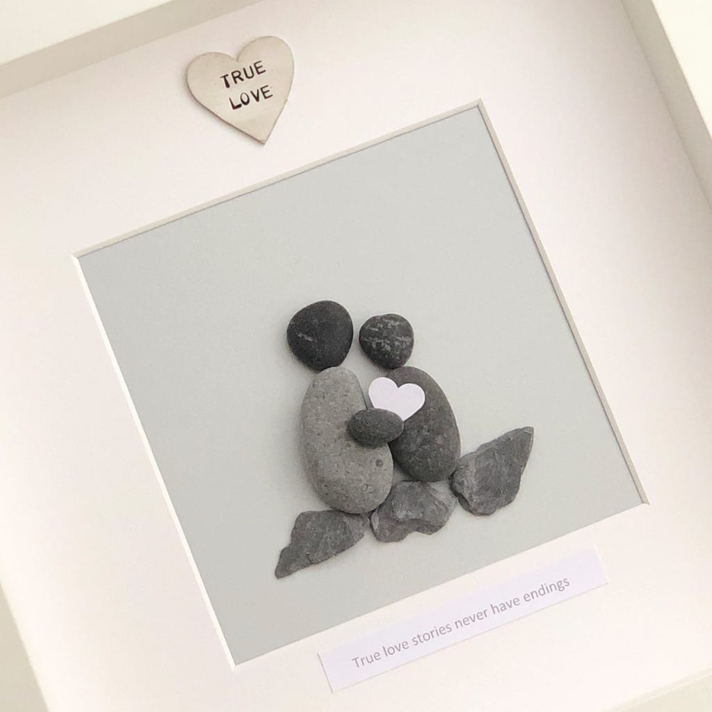 True Love Stories Never Have Endings Pebble Picture