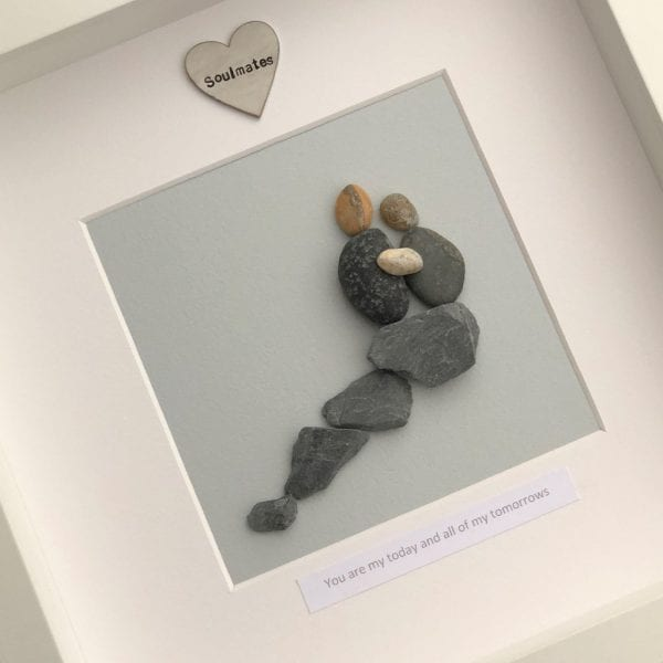 You Are My Today And All Of My Tomorrows Pebble Picture