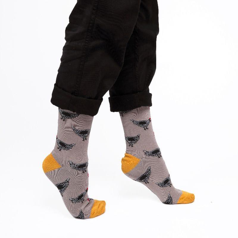 Grey Hens Socks