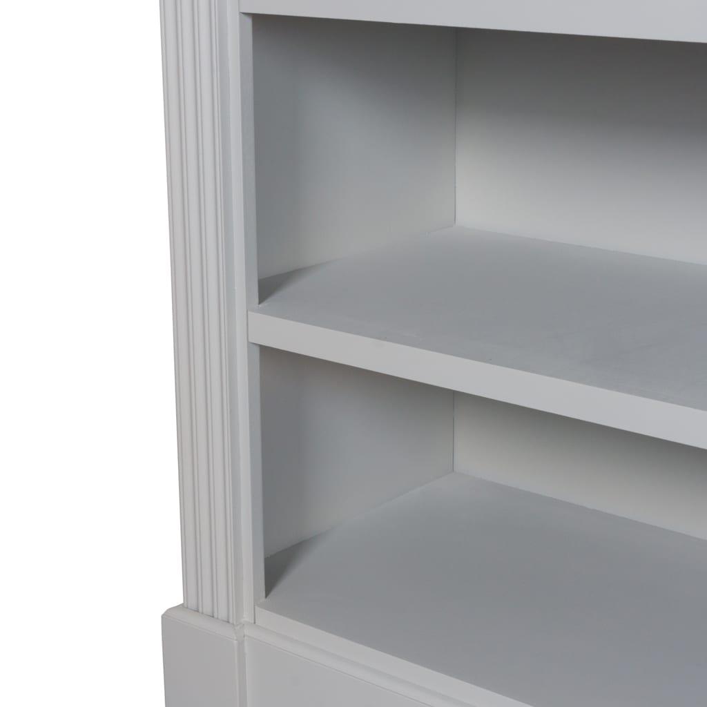 Honfleur Four Drawer Low Bookcase