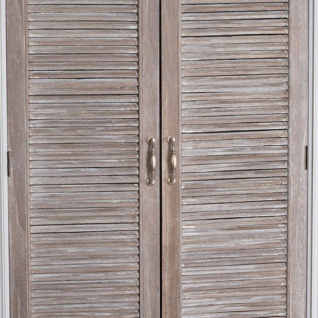 Honfleur Linen Cupboard With Louvred Doors