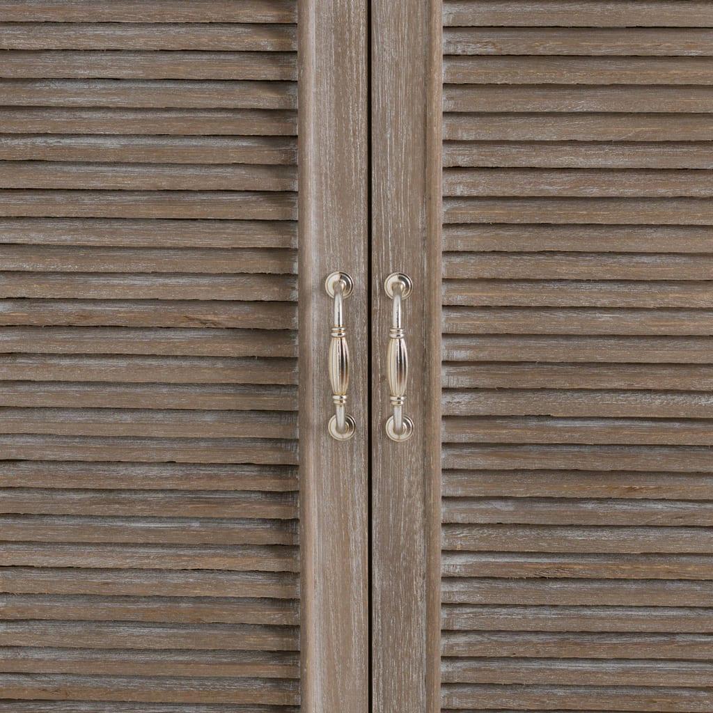 Honfleur Louvred Door Mirror
