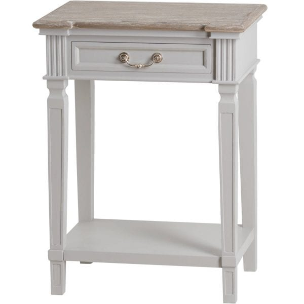 Honfleur One Drawer Hall Table With Shelf