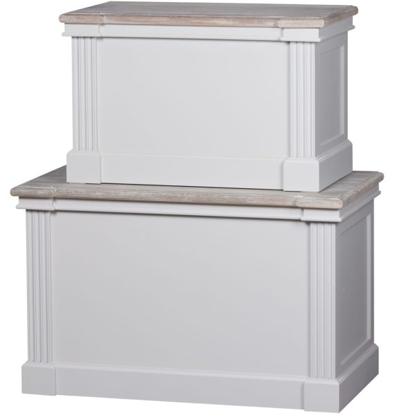Honfleur Set Of 2 Blanket Boxes