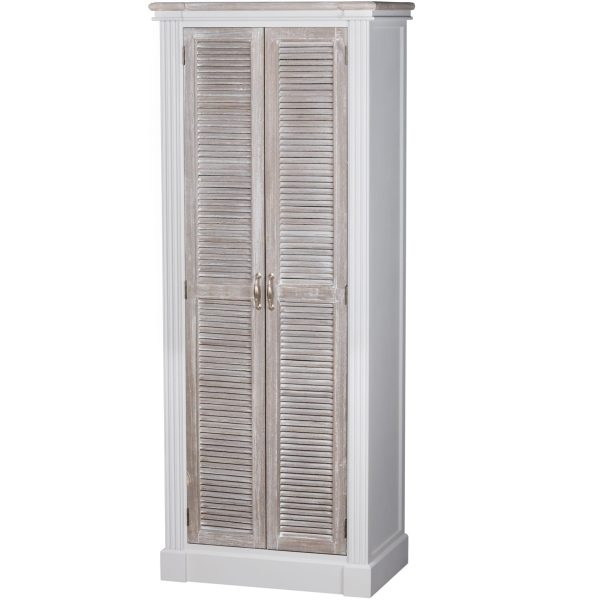 Honfleur Shoe Cupboard With Louvred Door