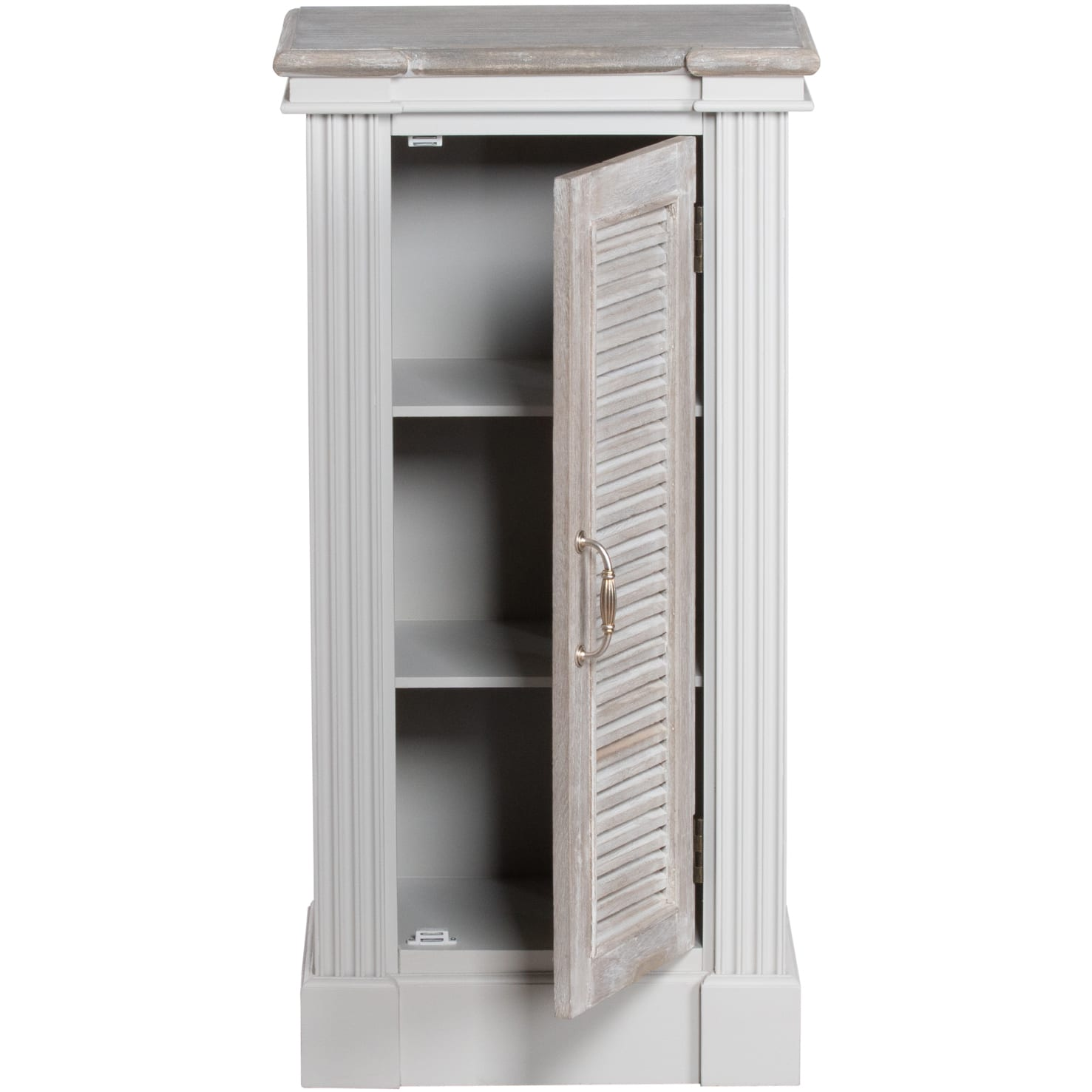 Honfleur Storage Cabinet With Louvred Doors