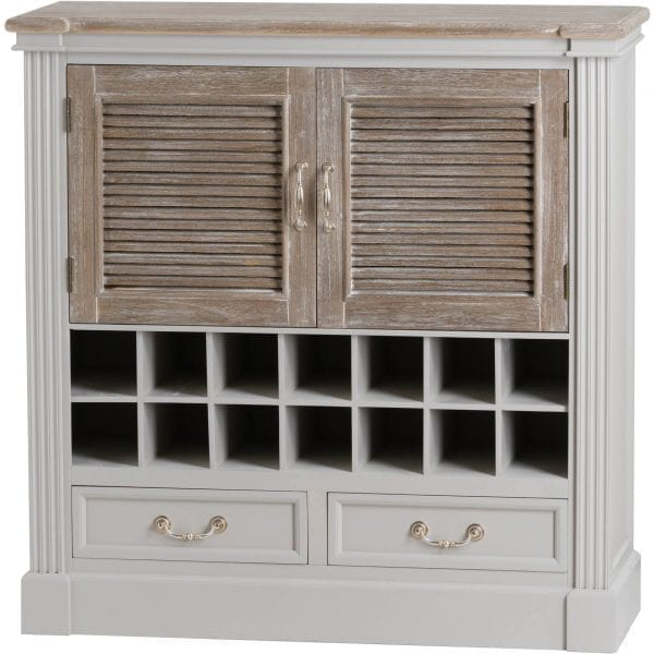 Honfleur Two Door Two Drawer Drinks Cabinet
