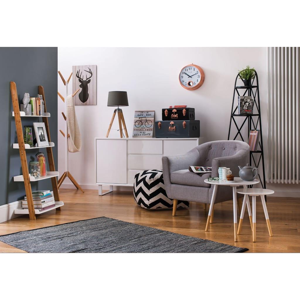 Brooklyn Loft Black Corner Shelf Unit