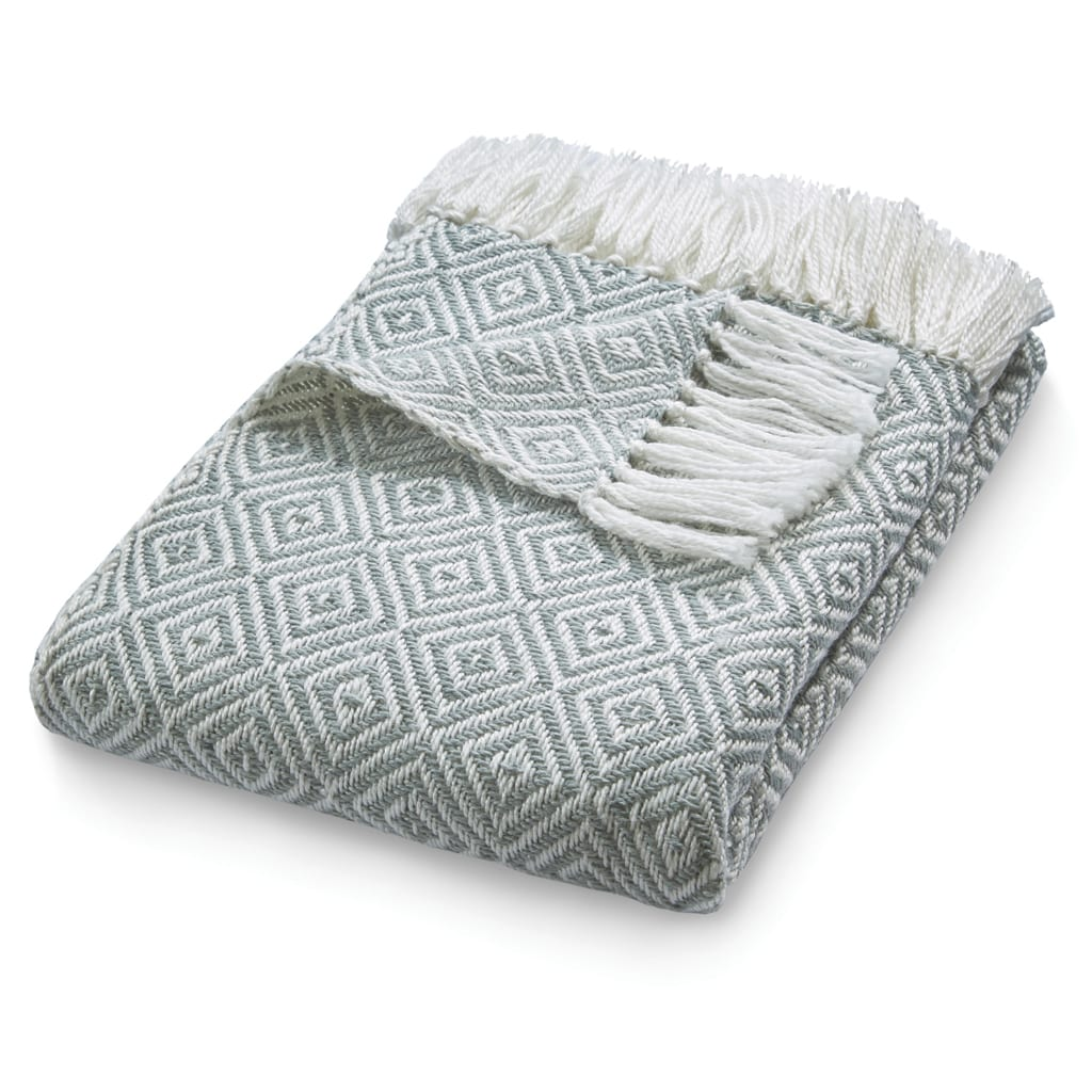 Diamond Sky Grey Throw