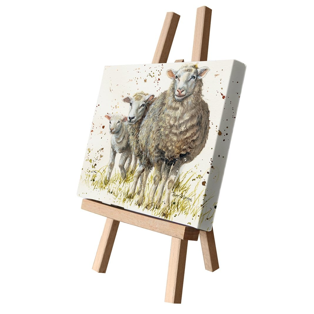 I Can See Ewe Canvas Cutie