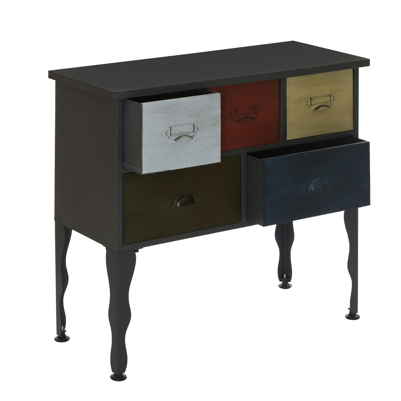 Brooklyn Loft 5 Drawer Cabinet
