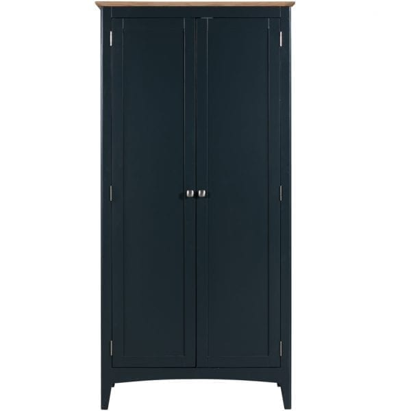 Evelyne Blue Full Hanging Wardrobe