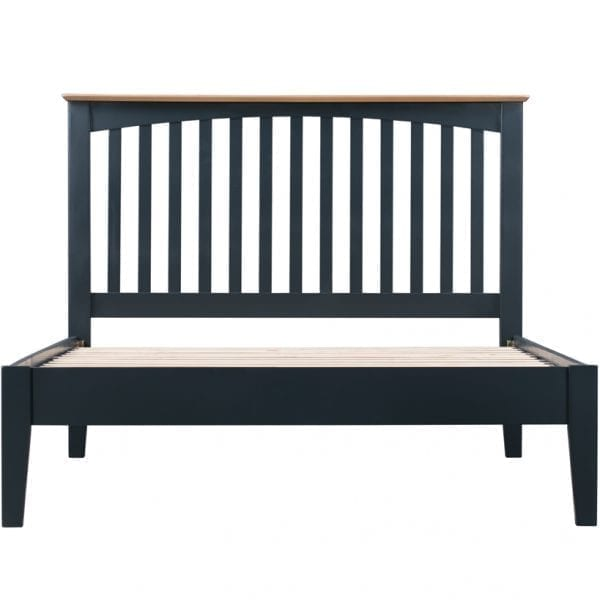 Evelyne Blue Slatted Bed
