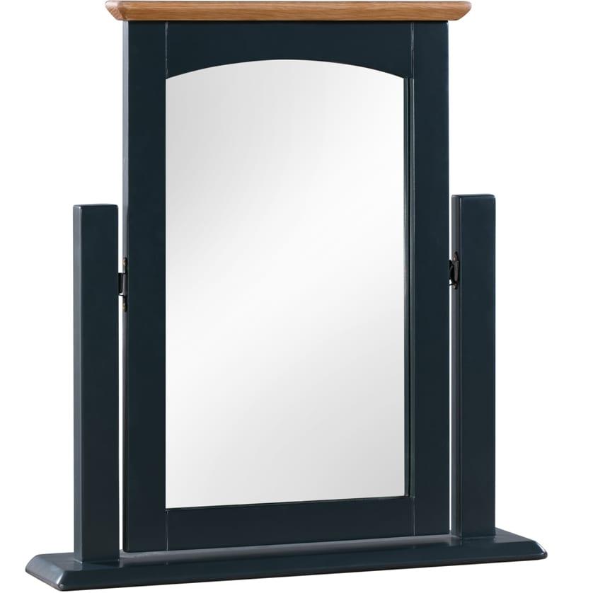 Evelyne Blue Vanity Mirror
