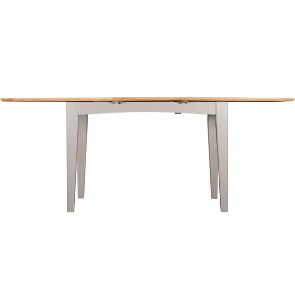 Evelyne Grey 160cm Extending Dining Table