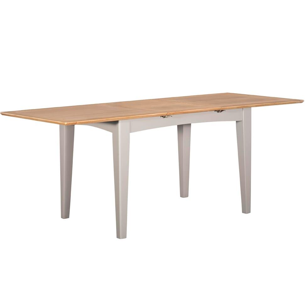 Evelyne Grey 160cm Extending Dining Table