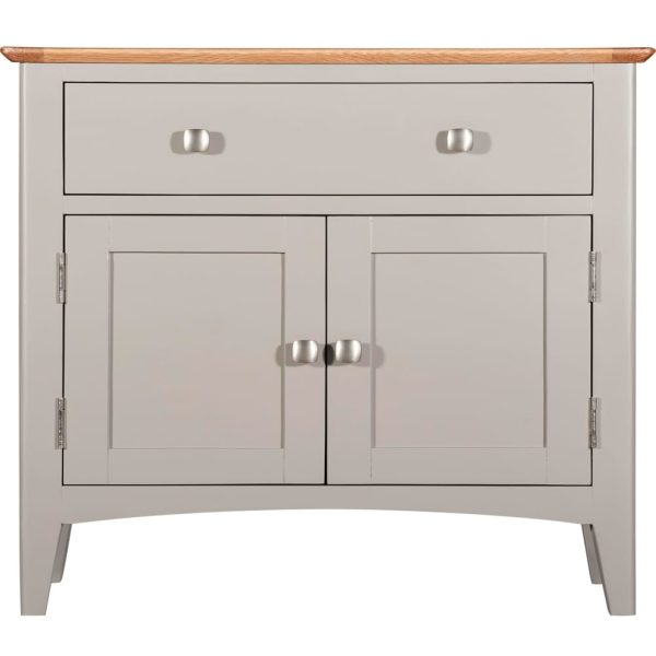 Evelyne Grey 2 Door 1 Drawer Cupboard