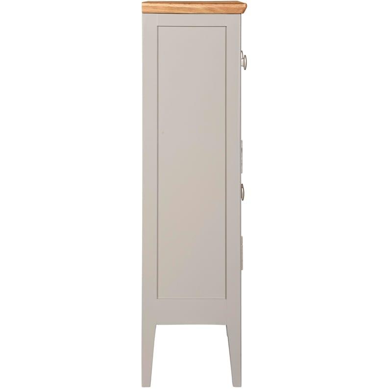 Evelyne Grey 2 Door 1 Drawer Cupboard