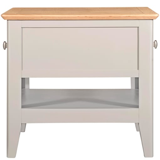 Evelyne Grey 2 Drawer Coffee Table