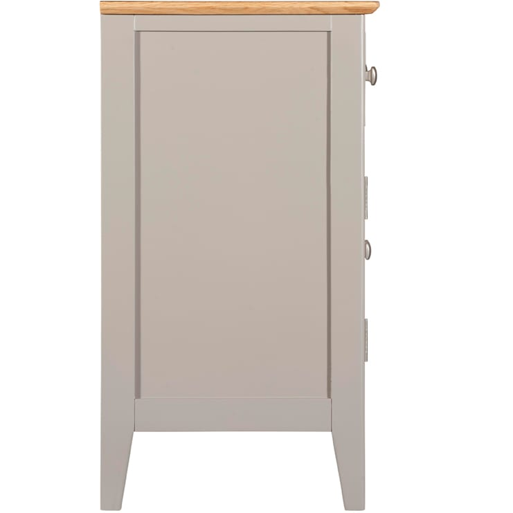 Evelyne Grey 4 Door Sideboard