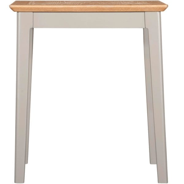 Evelyne Grey Lamp Table