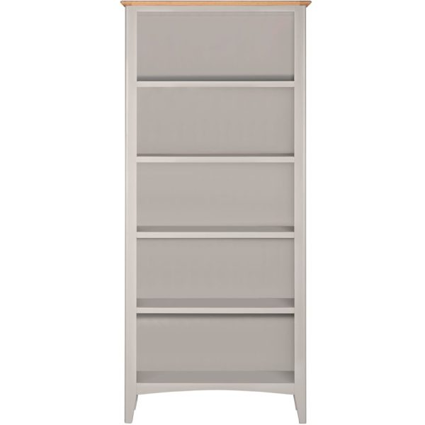 Evelyne Grey Large Bookcase