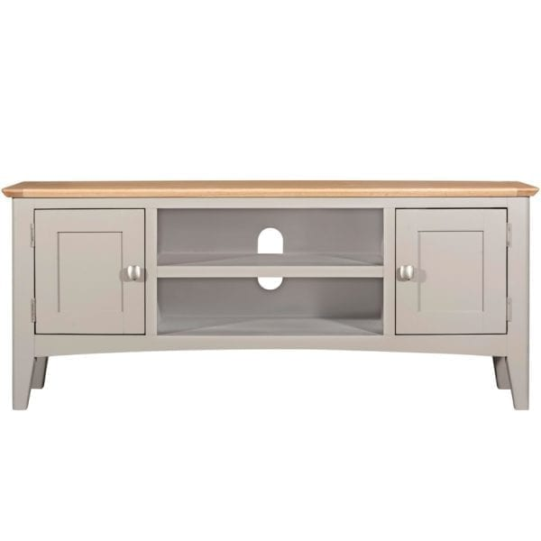 Evelyne Grey Large TV Unit