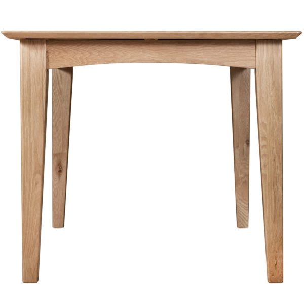 Evelyne Natural 120cm Extending Dining Table