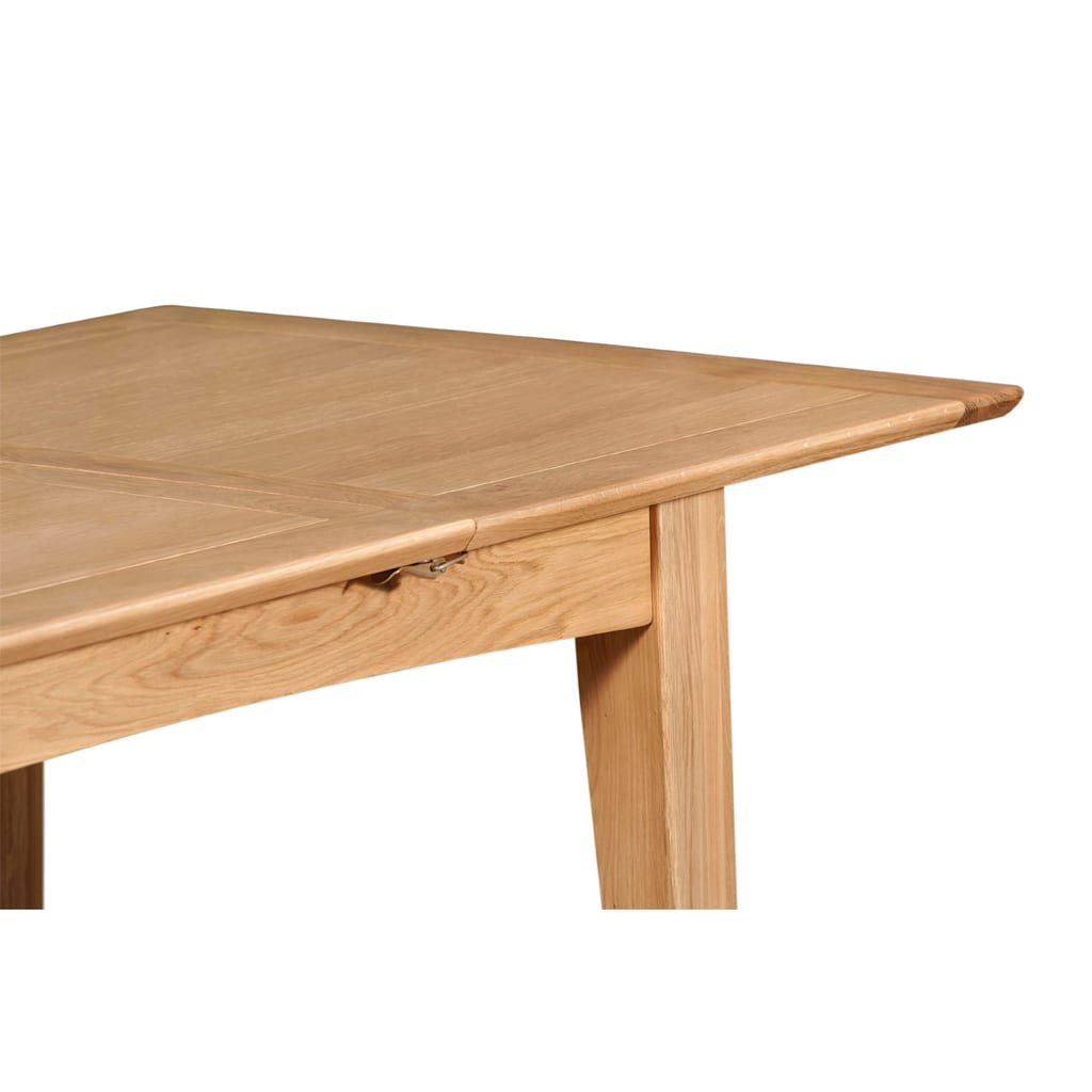 Evelyne Natural 120cm Extending Dining Table