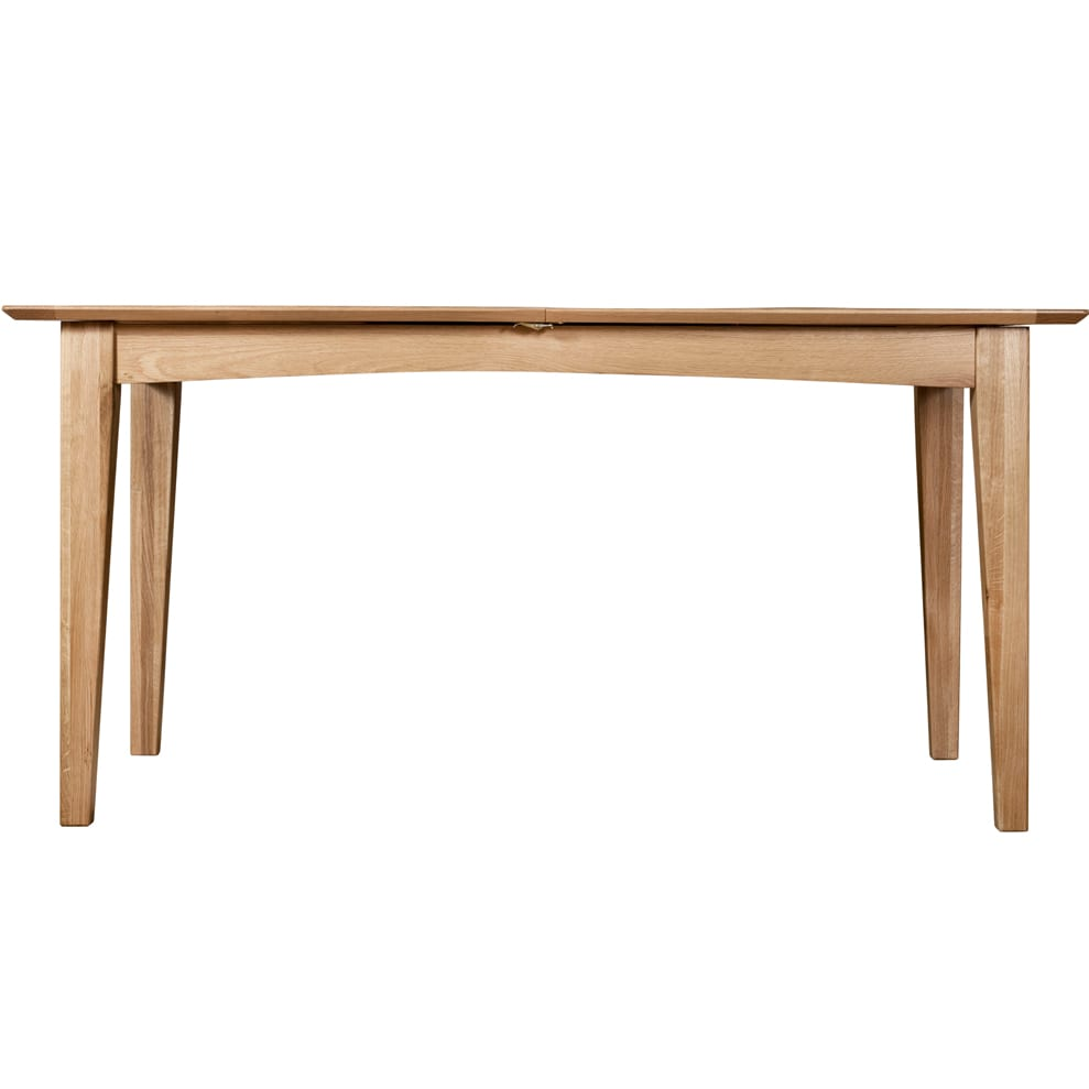 Evelyne Natural 160cm Extending Dining Table