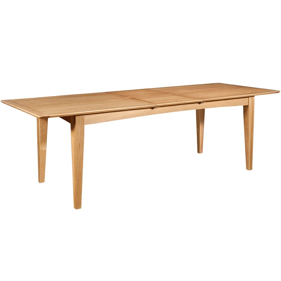 Evelyne Natural 200cm Extending Dining Table