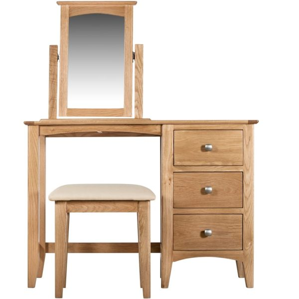 Evelyne Natural Dressing Table