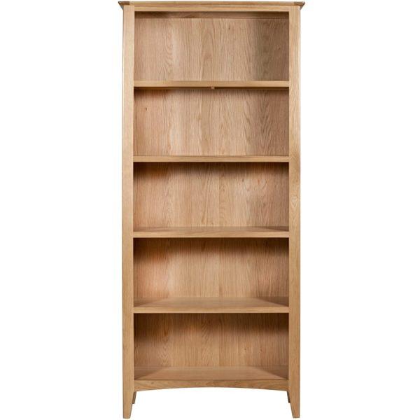 Evelyne Natural Large Bookcase