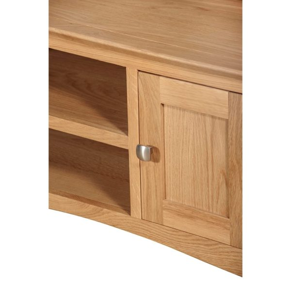 Evelyne Natural Small TV Unit