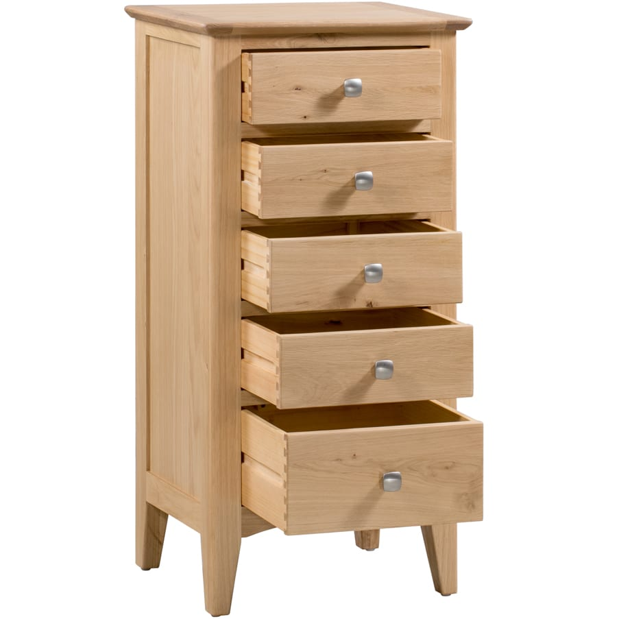Evelyne Natural Tall Chest of Drawers