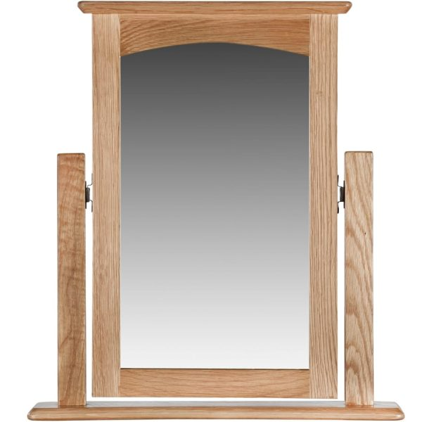 Evelyne Natural Vanity Mirror