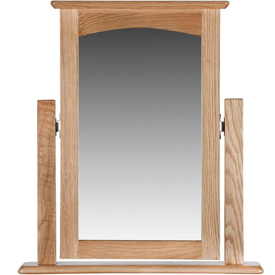 Evelyne Natural Vanity Mirror