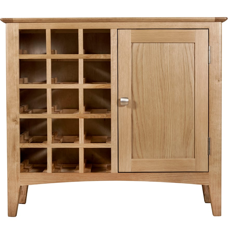Evelyne Natural Wine Cabinet