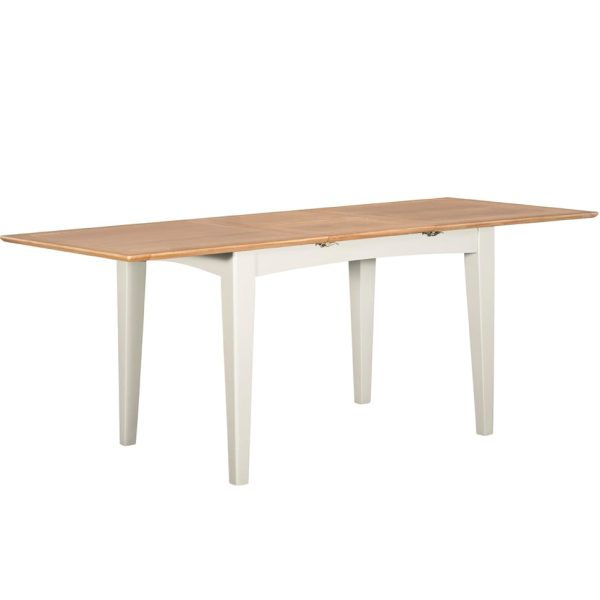 Evelyne White 160cm Extending Dining Table