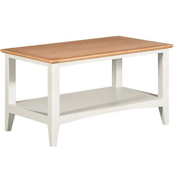 Evelyne White Coffee Table