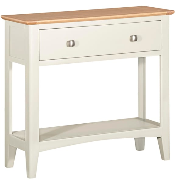 Evelyne White Console Table