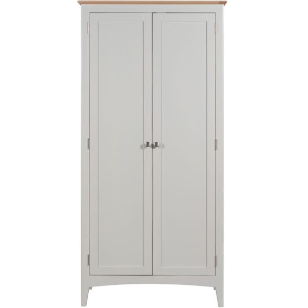 Evelyne White Full Hanging Wardrobe