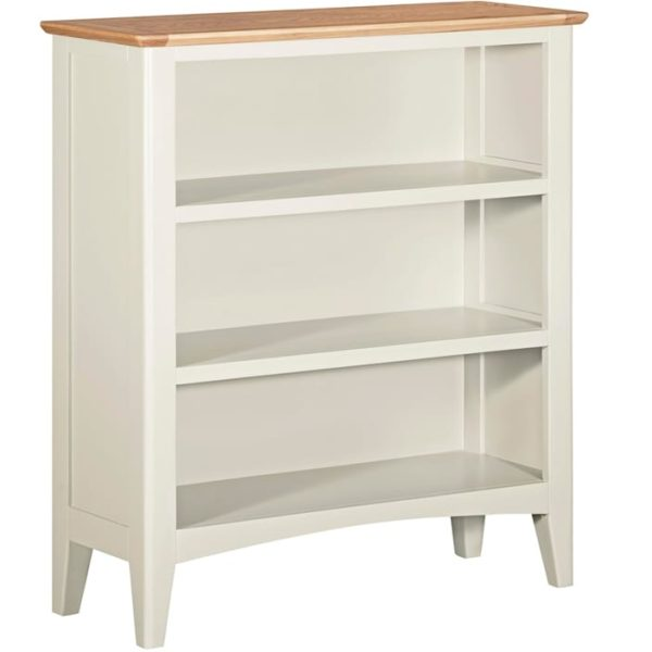 Evelyne White Small Bookcase