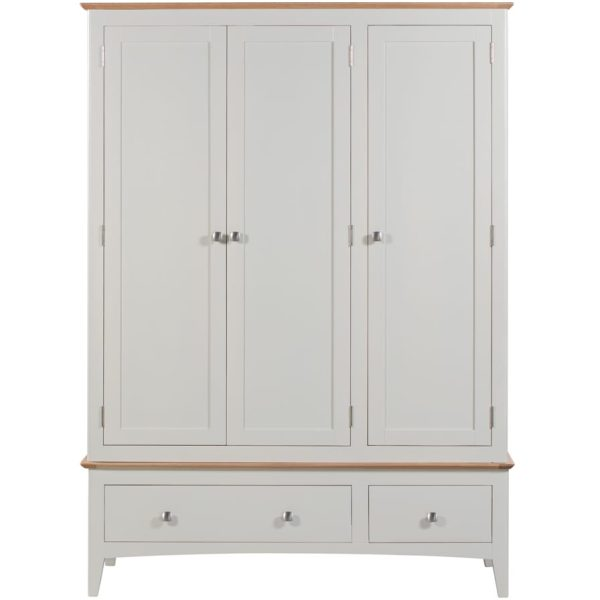 Evelyne White Triple Wardrobe
