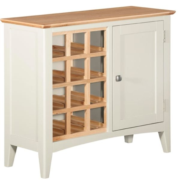 Evelyne White Wine Cabinet