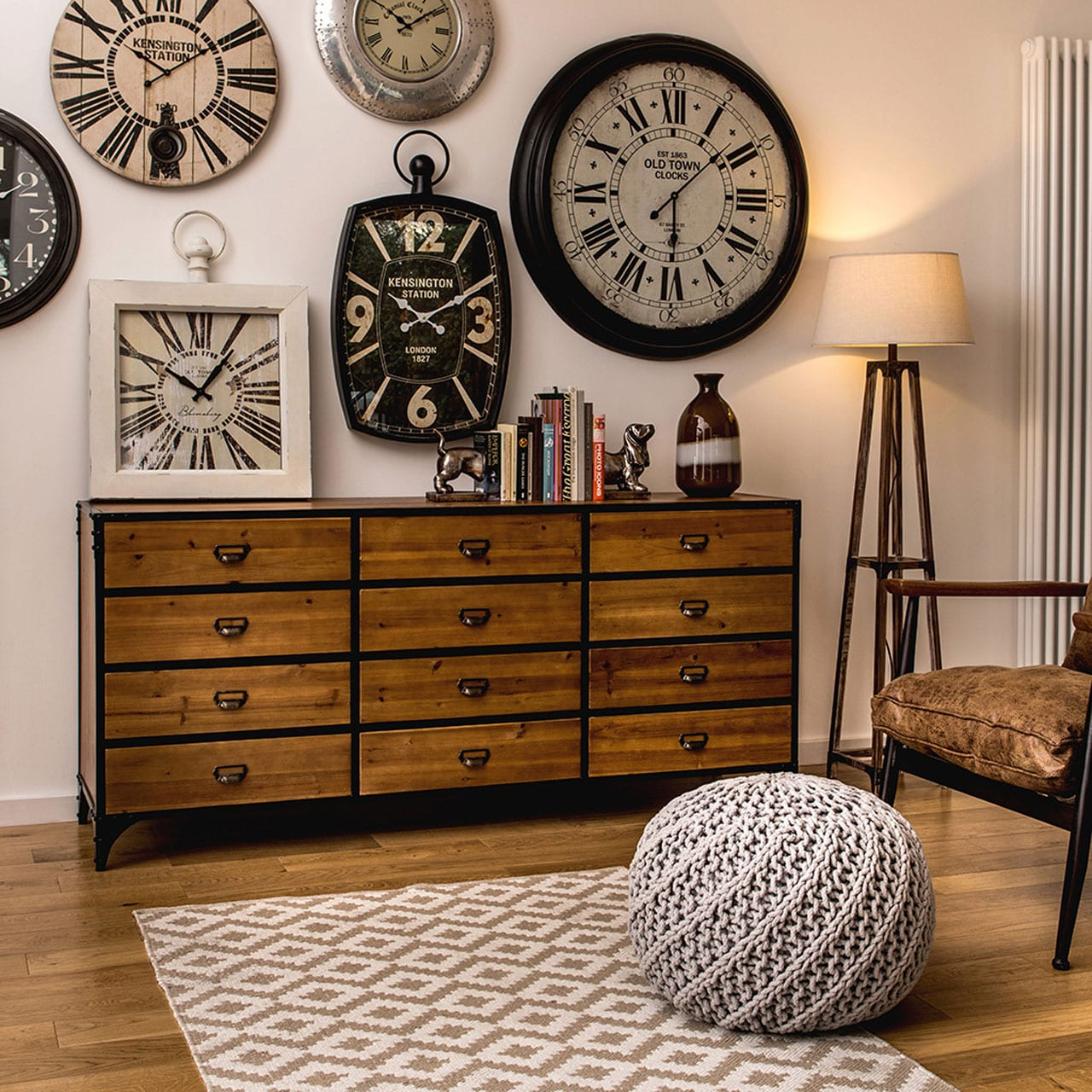 New Wakefield 12 Drawer Cabinet