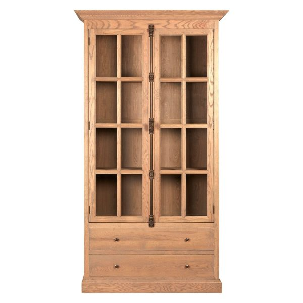 Rouen 2 Drawer 2 Door Cabinet