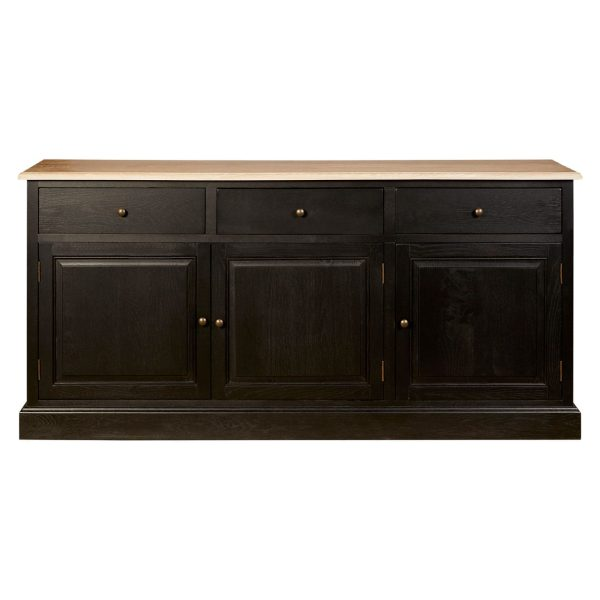 Rouen 3 Drawer Low Sideboard