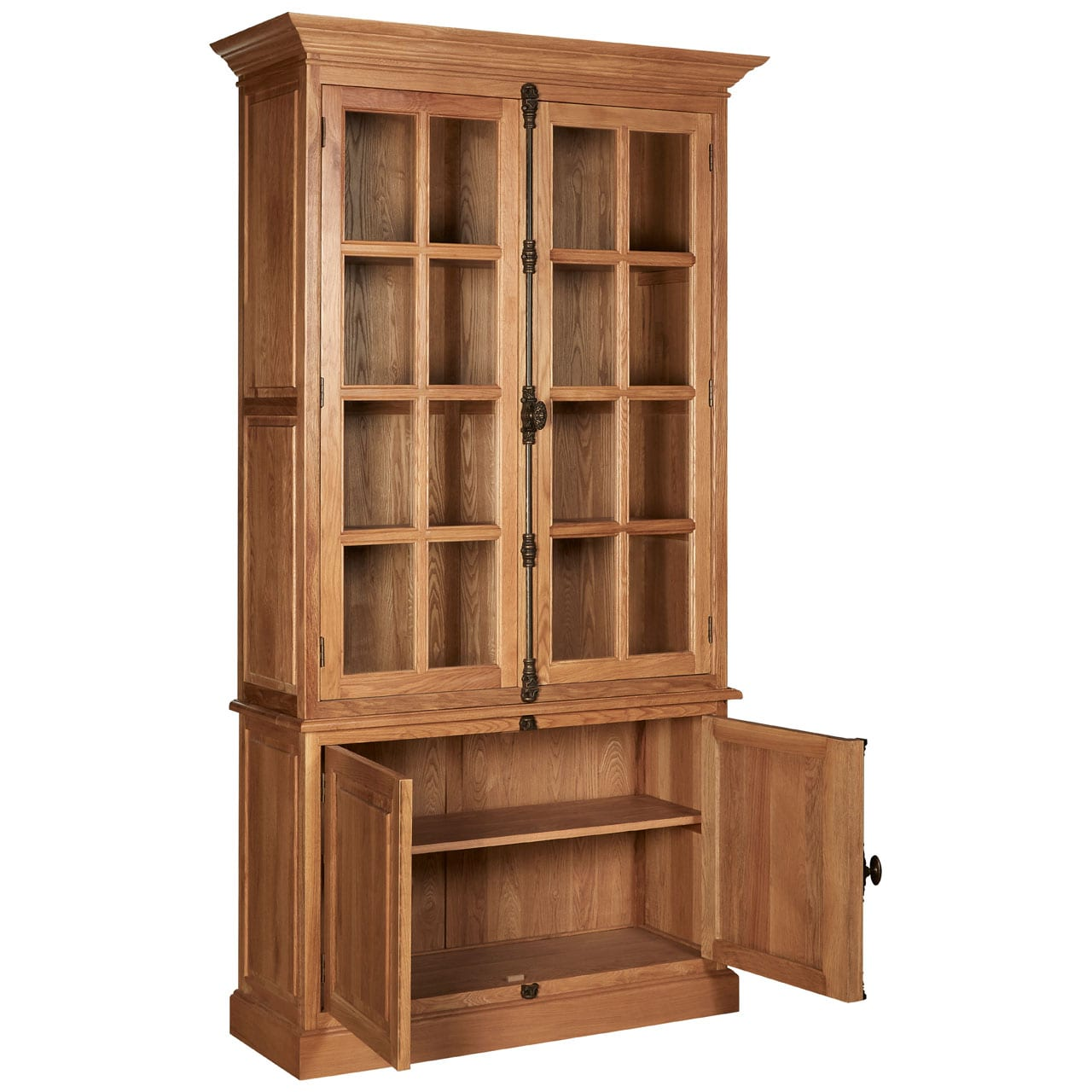 Rouen Cabinet With 3 Upper Shelves